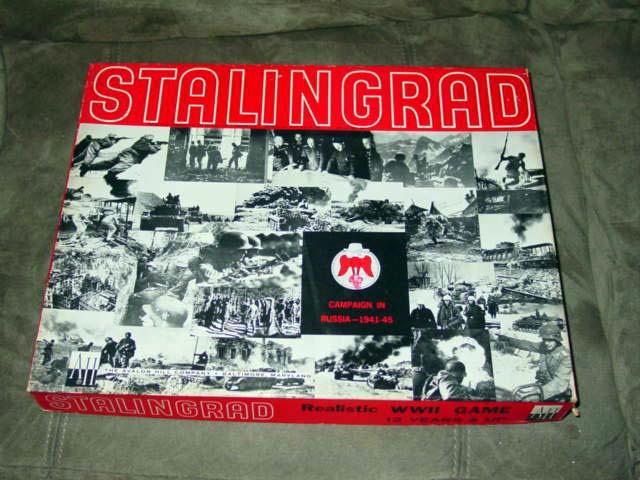 Ah Avalon Hill-Stalingrad jeu-Campagne de Russie 1941-45 épais Box (Punch)