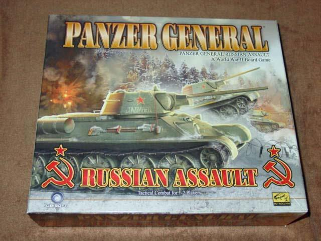 Ubisoft Games - PANZER GENERAL - Russian Assault WWII (UNPUNCHED) - Excellent