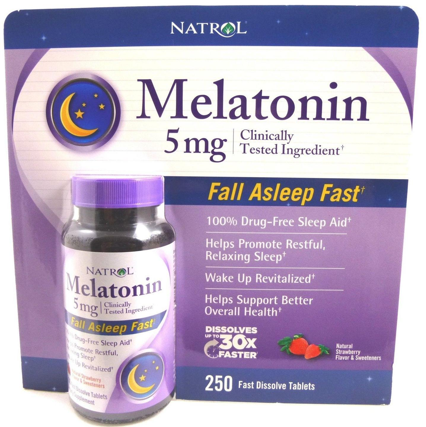 Image result for Natrol Melatonin Fast Dissolve