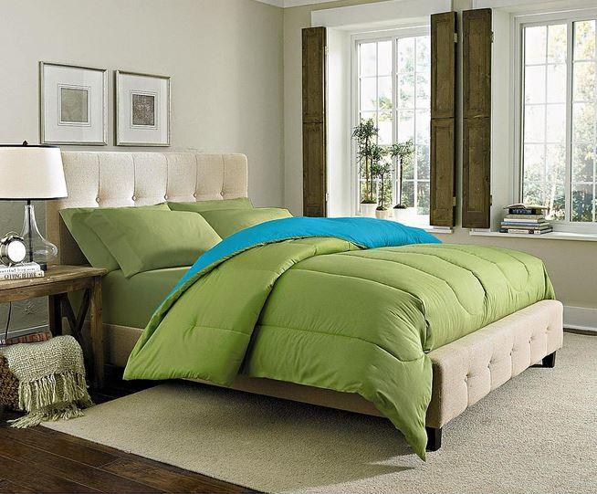Fully Reversible Solid Color Comforters By Cannon Choose