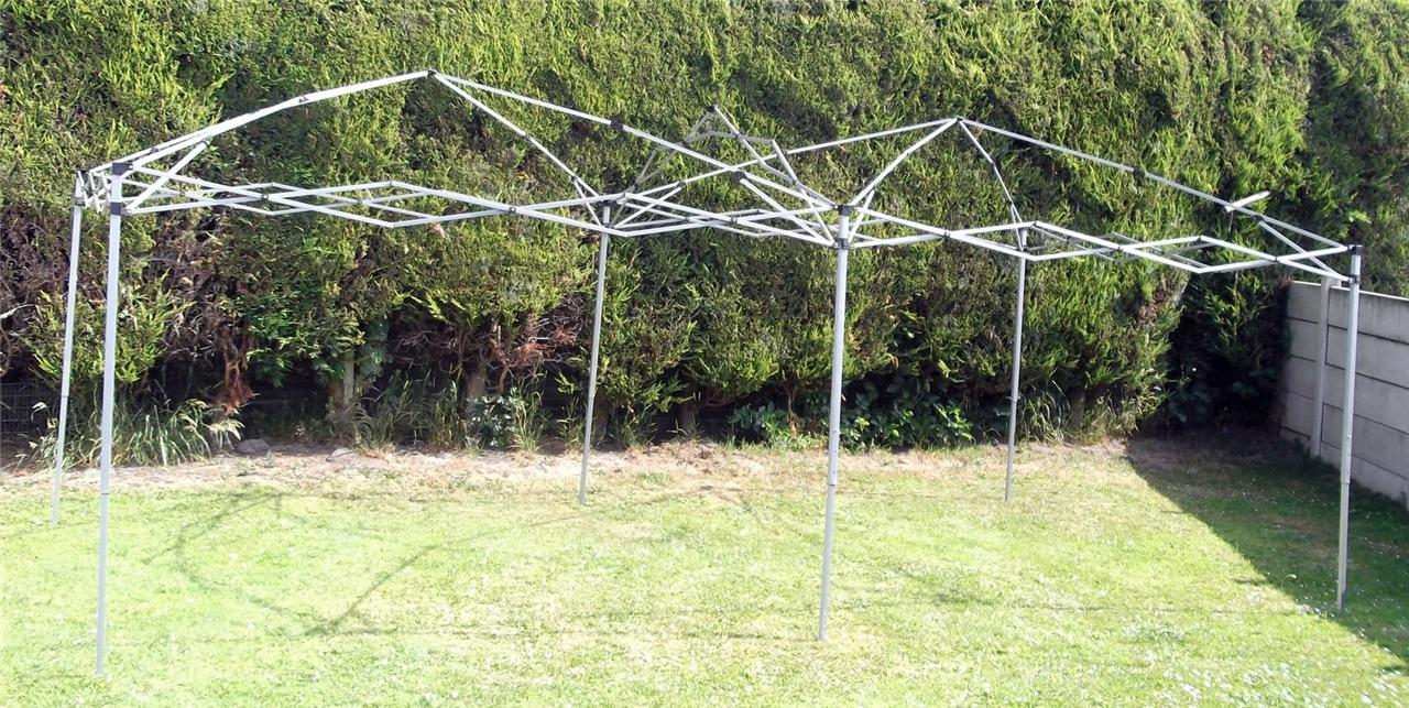 Gazebo Steel Frame Only Pop Up 6m X 3m Replacement Frame