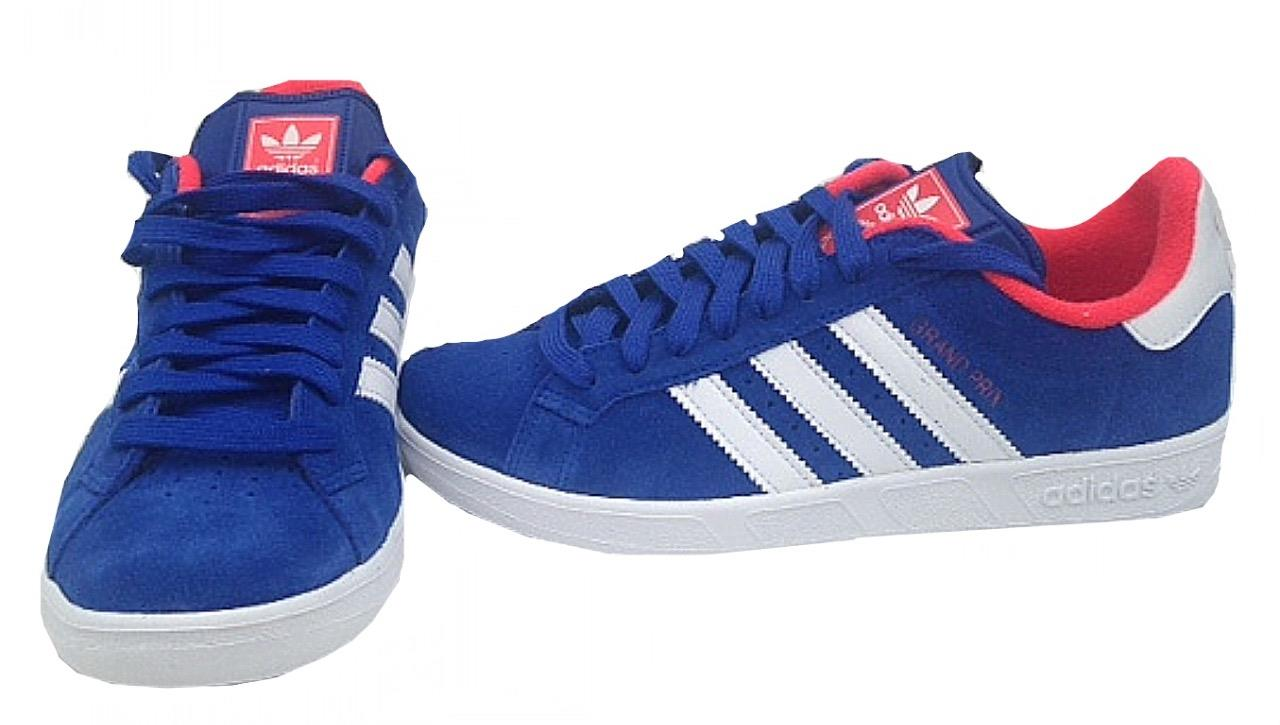 adidas mens grand prix trainers m17906 royal blue. Black Bedroom Furniture Sets. Home Design Ideas
