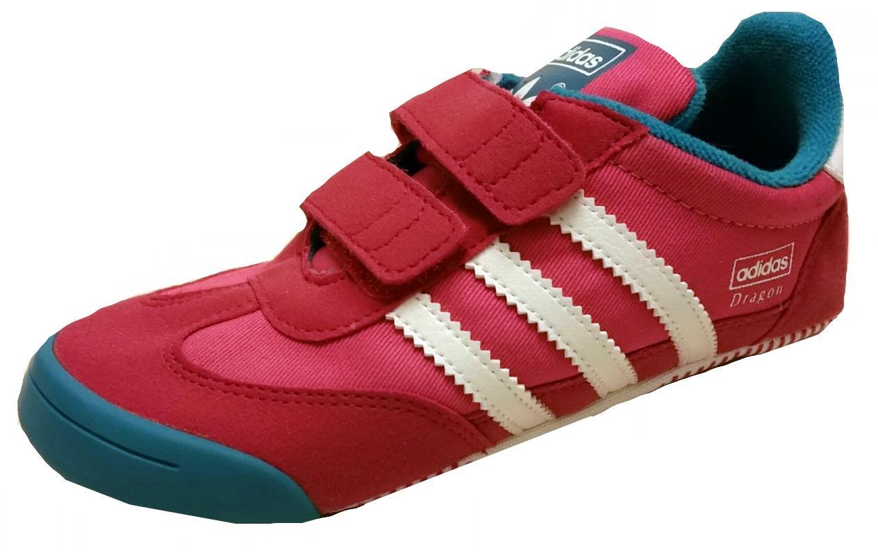 Détails sur Adidas bébé Dragon confort lit chaussure UK M20661 rose à pied 2 apprendre la nouvelle boîte de 1 7k afficher le titre d'origine