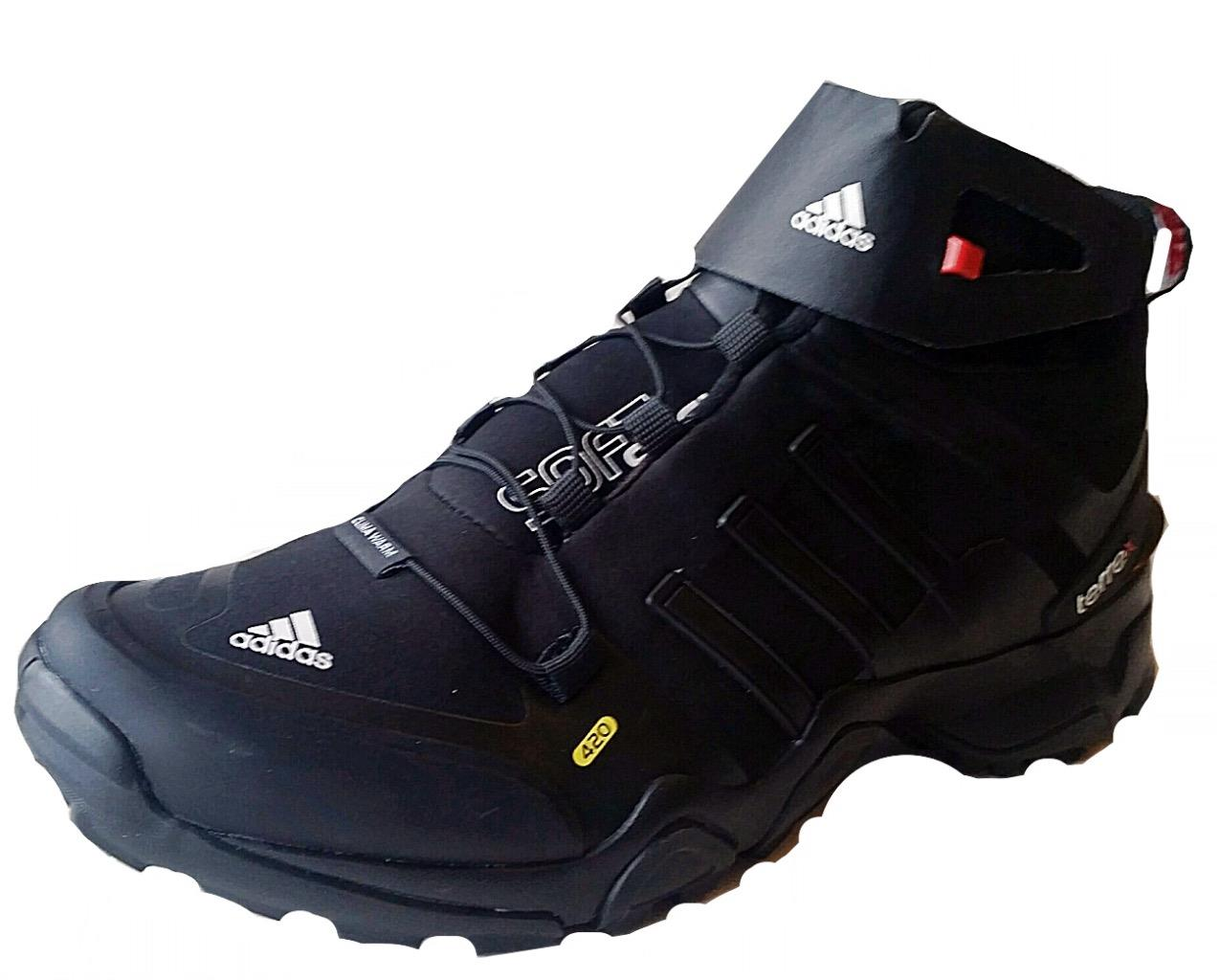 Adidas Mens Outdoor Terres Soft Shell Mid Boot Trainer