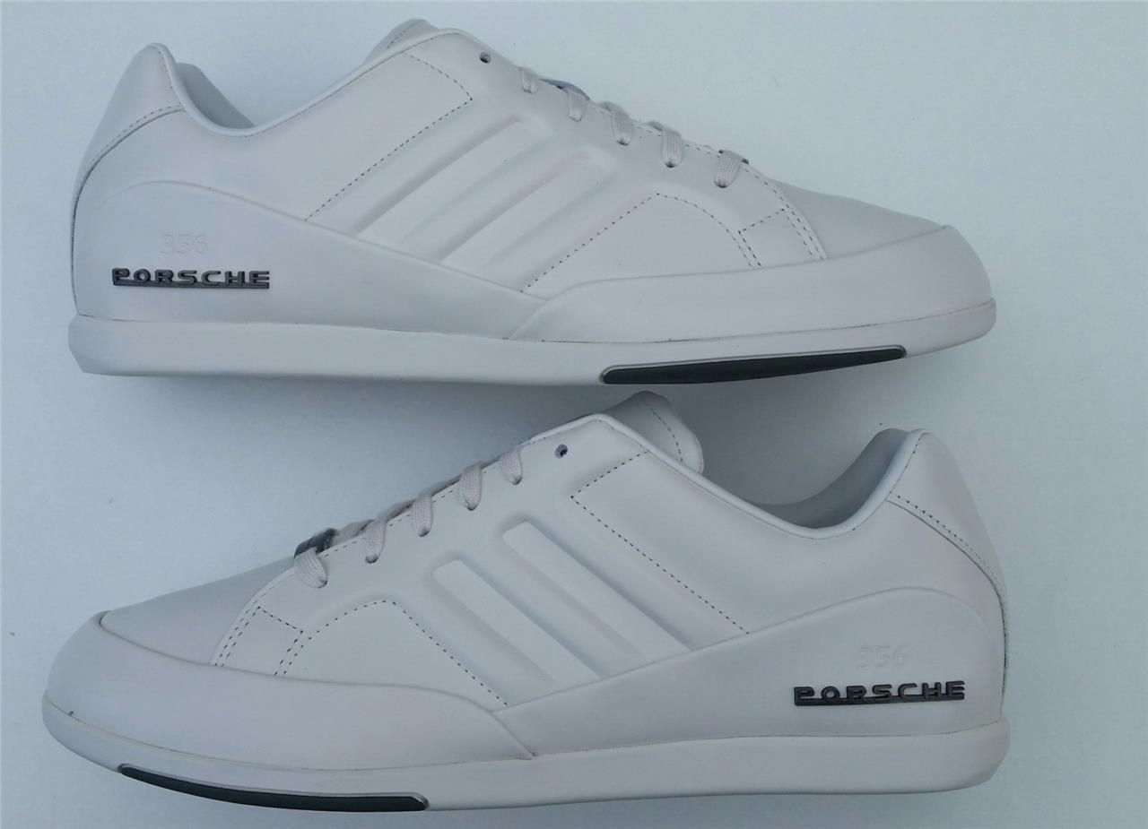 adidas mens porsche 356 biancastro trainer scarpa m20628 sport nuovo regno unito