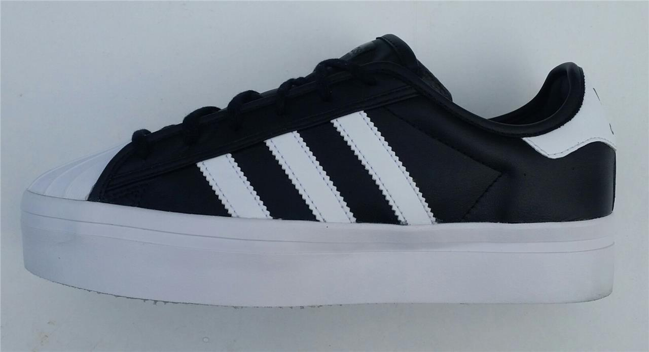 da4cf2b6836c Details about Adidas superstar rize womens trainer shoe s75069 new  black white uk 6.5 + uk 7.5