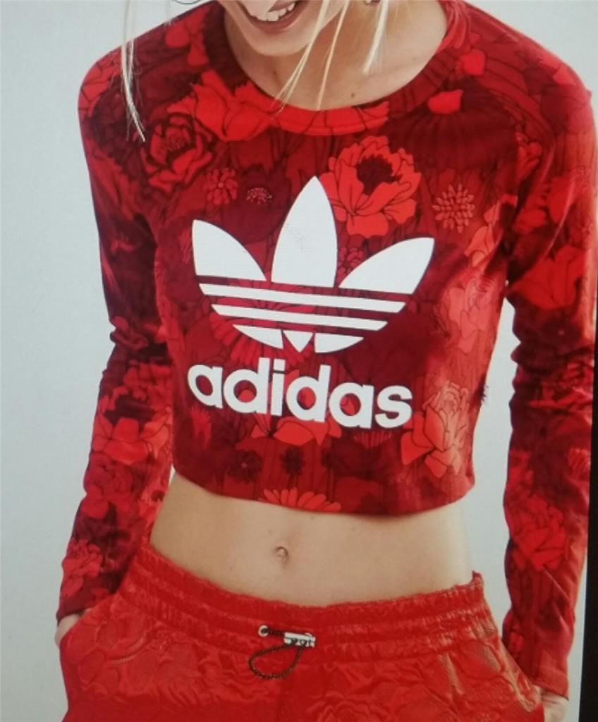 Adidas pour Femmes T Shirt Court Manches Longues ay7944
