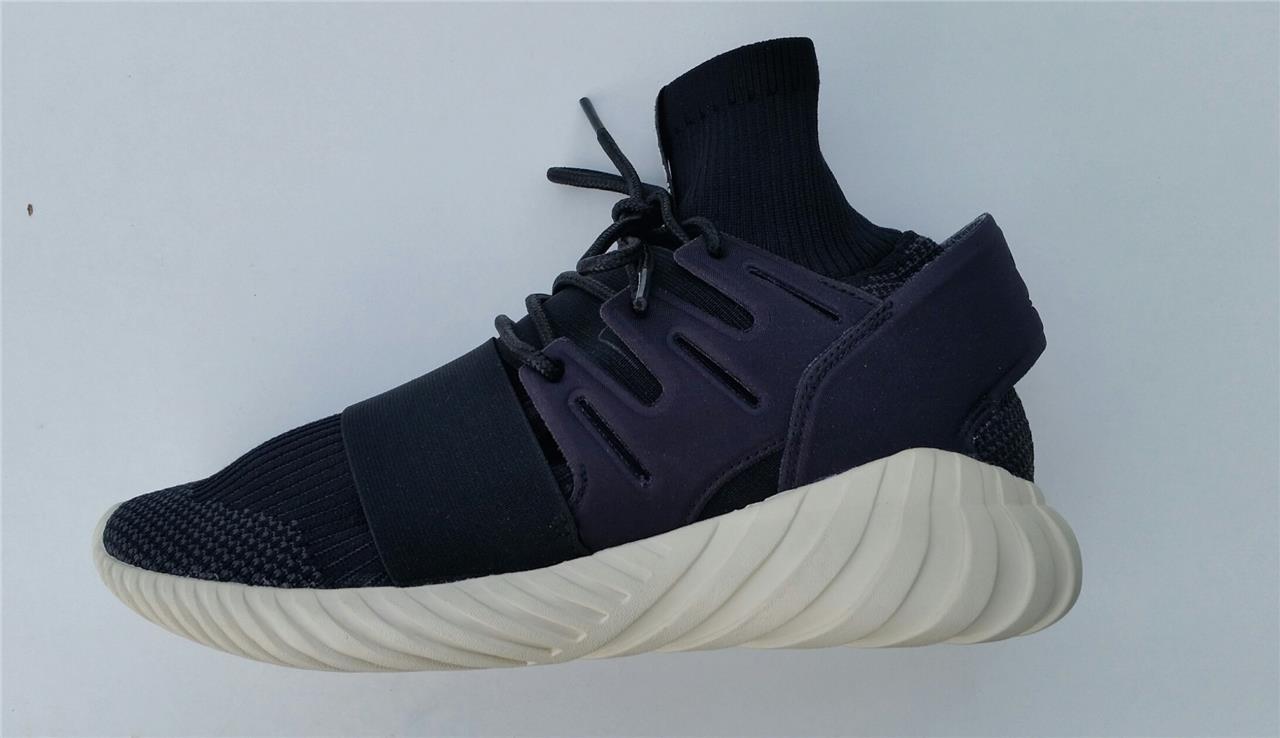 Détails sur Adidas Homme Tubular Doom Prime Knit Noir Crème Trainer Chaussure s74921 uk7 à 10.5 afficher le titre d'origine
