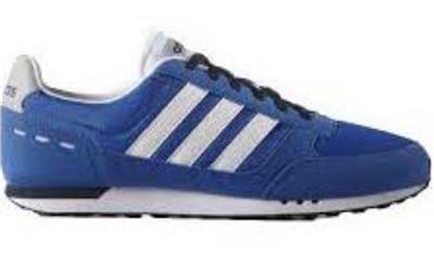 Detalles de Adidas Hombre Neo City Racer Zapatilla de Deporte Azul Real Nuevo f99331 Gb