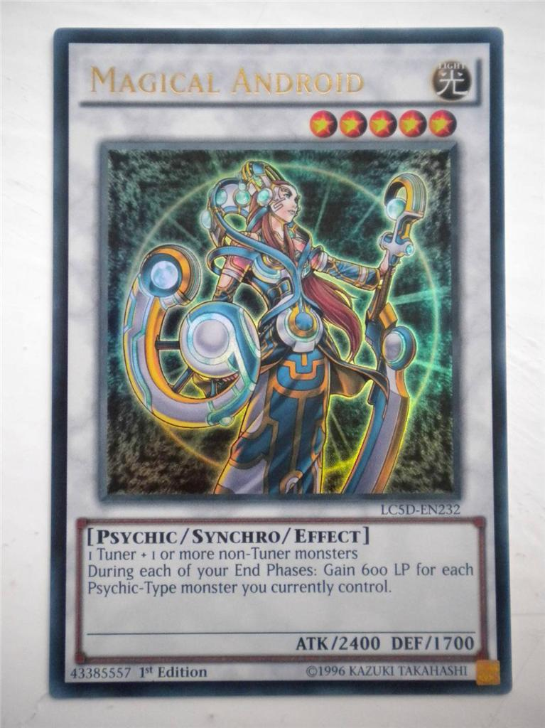 YuGiOh! LEGENDARY COLLECTION 5D'S ULTRA RARE CARDS : LC5D ...