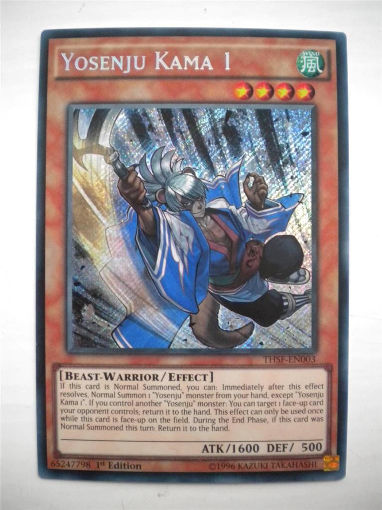 YU-GI-OH THE SECRET FORCES SECRET RARE / SUPER RARE THSF ...  Yugioh Cards Rare List