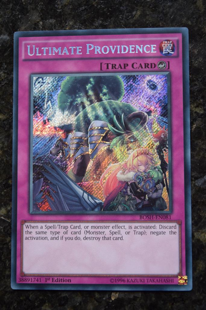 YuGiOh BREAKERS OF SHADOW BOSH SECRET, ULTRA, SUPER, RARE ...