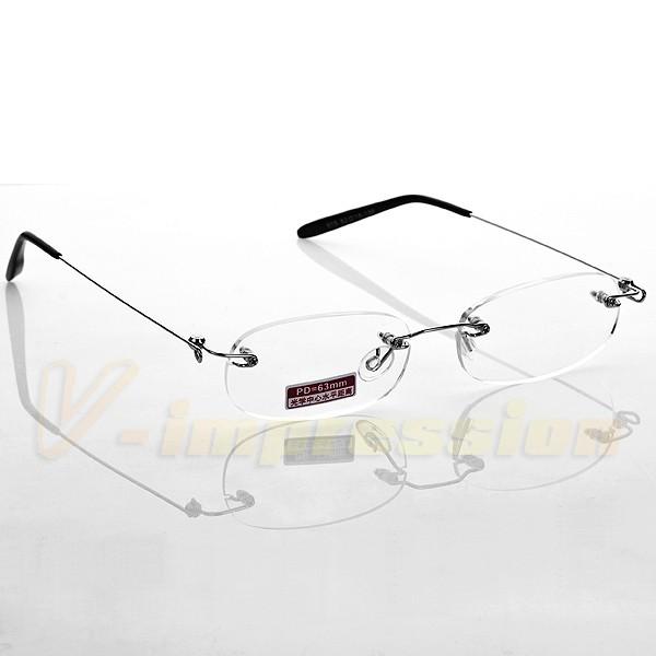 19ac893268 Flexible Lightweight Frameless Rimless Reading Glasses Optical Reader Men  Women