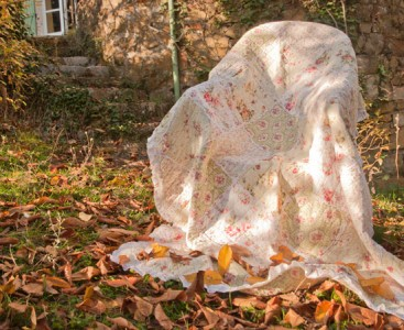quilt patchwork plaid tagesdecke shabby chic 240 x 260 cm ebay. Black Bedroom Furniture Sets. Home Design Ideas