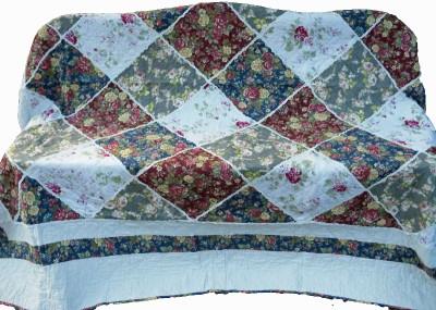 quilt patchwork tagesdecke landhausstil 240 x 260 cm. Black Bedroom Furniture Sets. Home Design Ideas