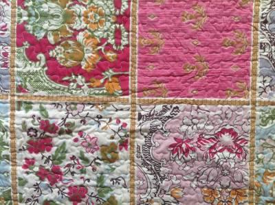 quilt patchwork tagesdecke 240 x 260 cm ebay. Black Bedroom Furniture Sets. Home Design Ideas