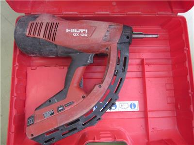 hilti gx 120 fully automatic gas actuated fastening tool. Black Bedroom Furniture Sets. Home Design Ideas