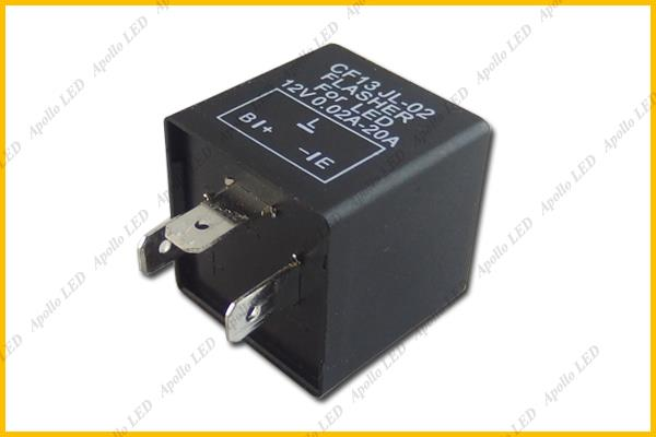 1pc Cf13 Ep34 3 Pin Led Flasher Relay For Car Turn Signal