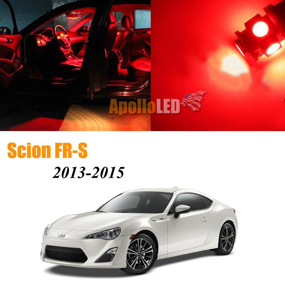 4 Pieces 2013-2015 Scion FRS Premium White LED Interior Package
