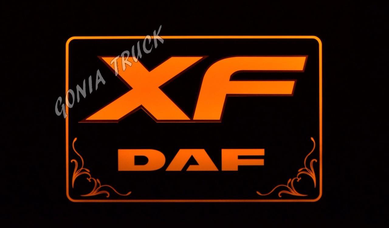 Leds Logo Quot Daf Xf Quot Ebay