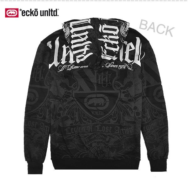 4 W3 Men Hip-Hop ECKO UNLTD Graffiti Printing Zipper Hoodie Sweater  Sweatshirt. Welcome to my store 70bac15c577