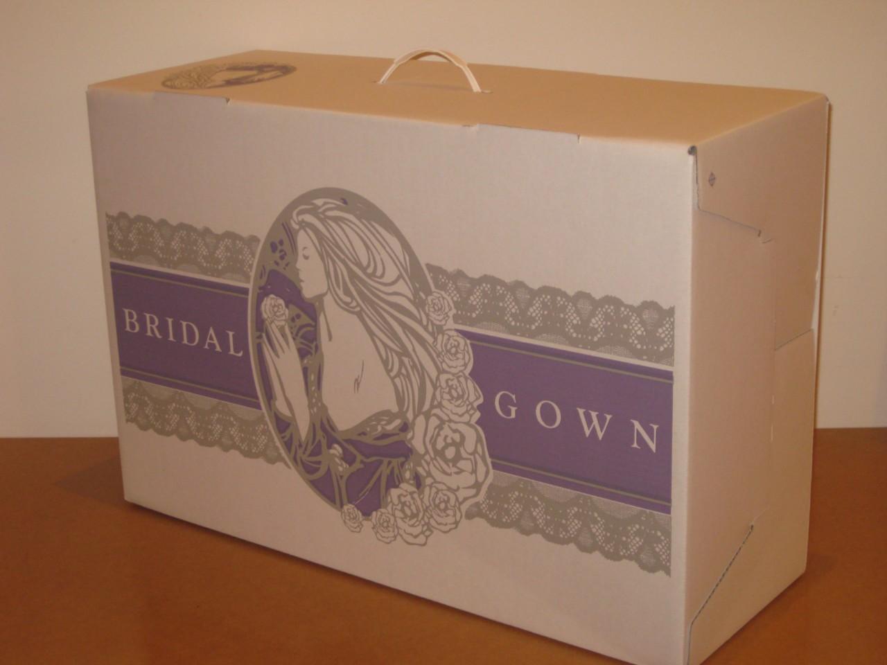 wedding dress storage box bridal preservation gown box white acid free tissue ebay. Black Bedroom Furniture Sets. Home Design Ideas