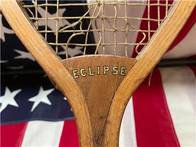 1920s Edw K Tryon Tournament wood tennis racket