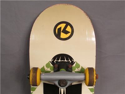 Kryptonics 1965 Series Graphic Skateboard  Kryptonics Wheels