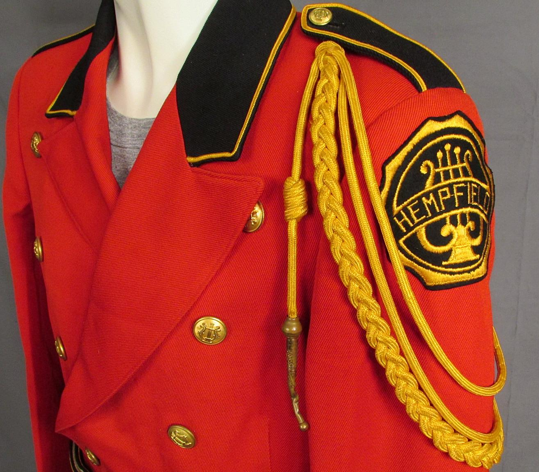 Vintage 1940s Hempfield H.S. Marching Band Leaders Uniform ...