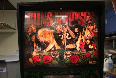 Guns N Roses Pinball Machine Data East 1994 This Pin