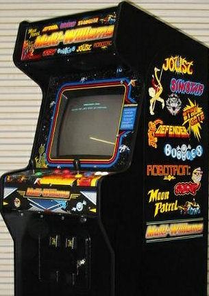 Multi Williams Classic Arcade Game Machine Multicade