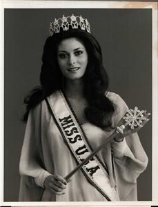 Original TV Photo Summer Bartholomew, Miss USA 1975 at ...