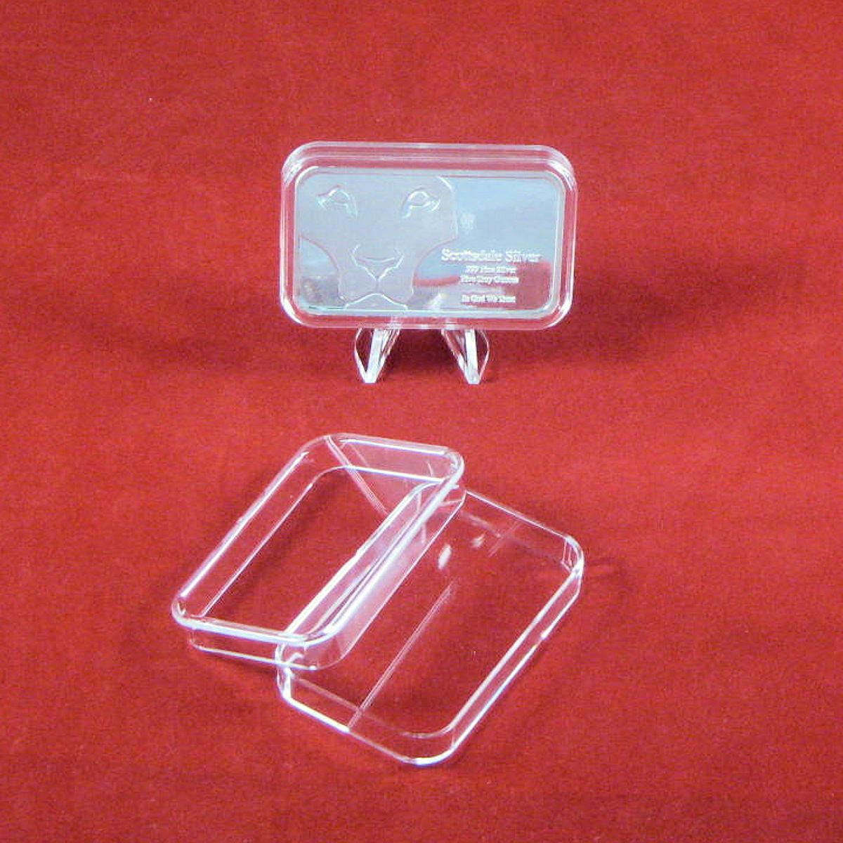 Silver Bullion Or Capsule Holders For 1 5 And 10 Oz