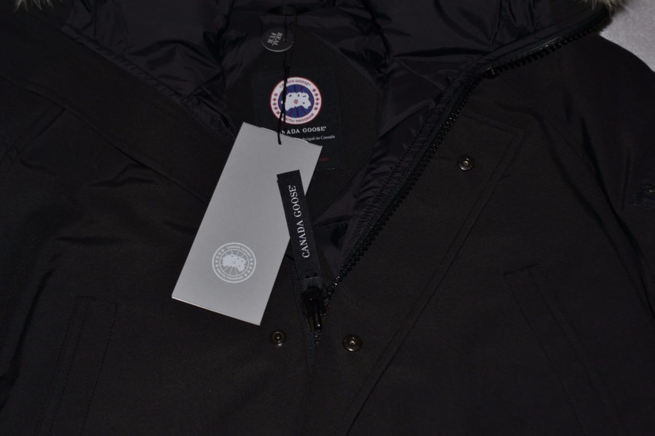 AUTHENTIC-CANADA-GOOSE-MEN-039-S-CHILLIWACK-BOMBER-JACKET-BLACK-S-SMALL-BRAND-NEW