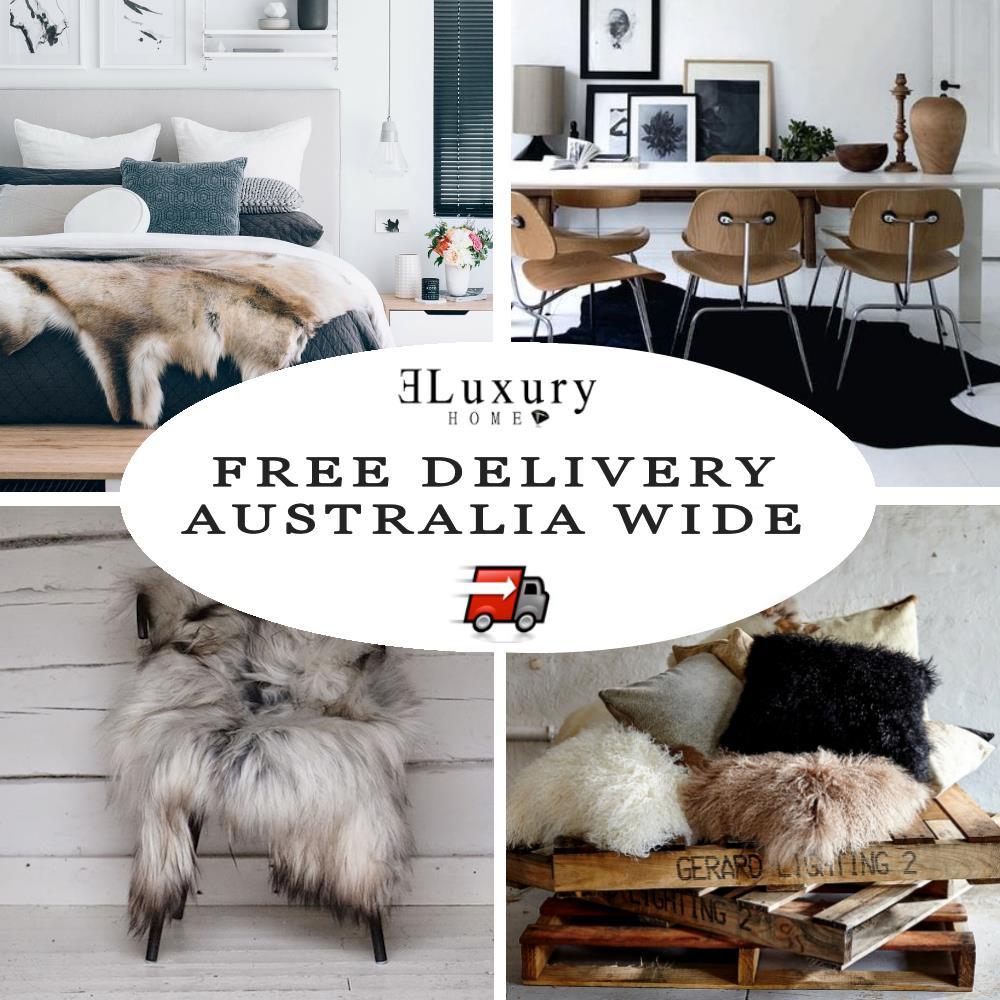 Icelandic Grey Sheepskin Sheep Skin Wool Fur Shaggy Long Hair Bean Bag Beanbag Ebay