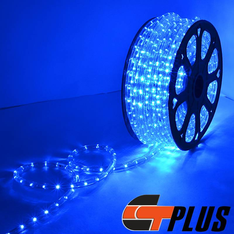Rope Lights For Boats: 150' BLUE LED ROPE LIGHT DECOR HOME YARD POOL BOAT OUTDOOR
