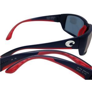 1cf3457a36 New Costa Del Mar Fantail Polarized Sunglasses 400G Glass USA Blue Blue  Mirror