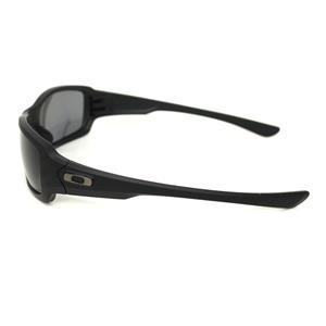 34df6de0ee Oakley Fives Squared Sunglasses POLARIZED Black Black Iridium Authentic  9238-06