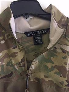 Arc Teryx Sphinx Halfshell Shirt Jacket Leaf Military
