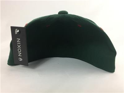 63b78fd0f56 New Nixon Deep Down Flex FIt Fitted Hat Forest Green 6 7 8 - 7 1 4 ...