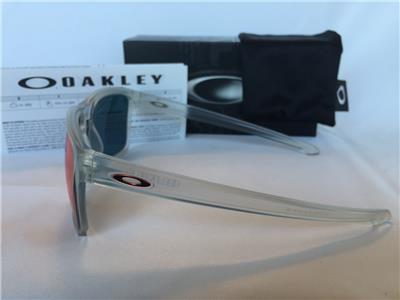 cf8947cdc9 New Oakley Sliver XL Sunglasses Matte Clear Torch Iridium Red OO9341-09  Sport