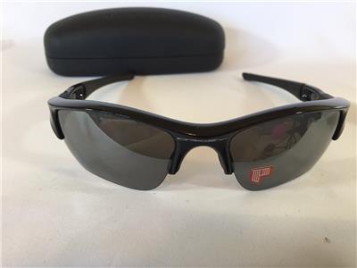 2283fb1c3b New Oakley Flak Jacket XLJ POLARIZED Sunglasses Jet Black Black Iridium 12 -903