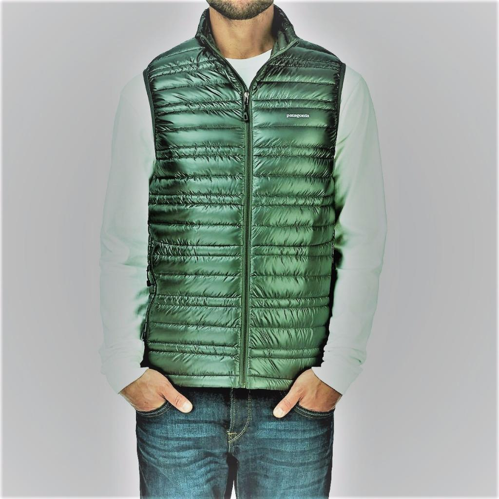 New Patagonia ULTRALIGHT Down Sweater Vest Nouveau Green XL 800 ...