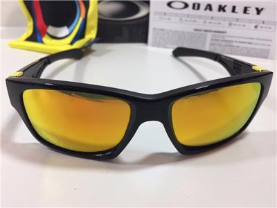 f9a6126bfd9 Oakley Jupiter Squared Sunglasses Valentino Rossi VR46 Fire Iridium OO9135- 11