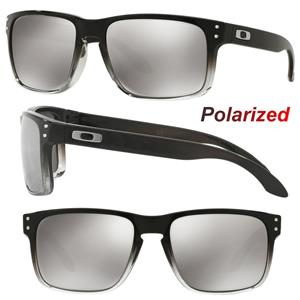 37fd4e3b29739 New Oakley Holbrook POLARIZED Retro Sunglasses Dark Ink Chrome Iridium  Mirror