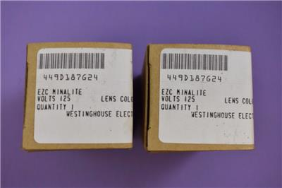 Westinghouse Type Ezc Minalite Style 449d187g24 125v Green