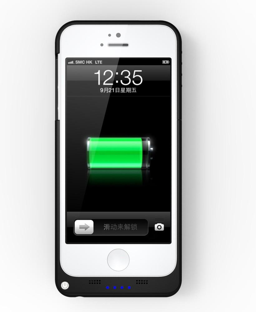 portable iphone 5 charger portable charger 2200mah external power backup 15885