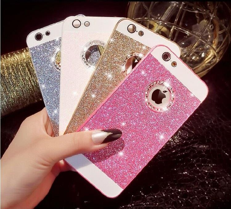 Details about Luxury Bling Glitter Crystal Back Case Cover for Apple iPhone  SE 5C 6S 7 8 Plus 77e5a39d6