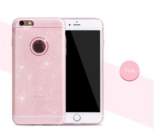 custodia iphone 5s silicone glitter