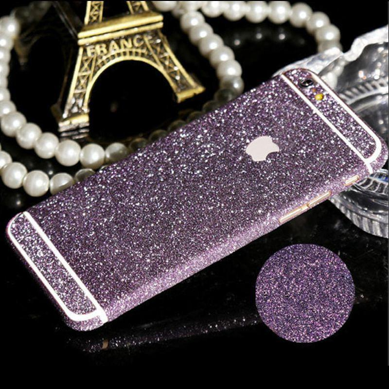 new product cb7b9 0499c Details about FULL BODY GLITTER BLING STICKER SKIN CASE COVER for iPHONE SE  5 5S 5C 6 6S Plus